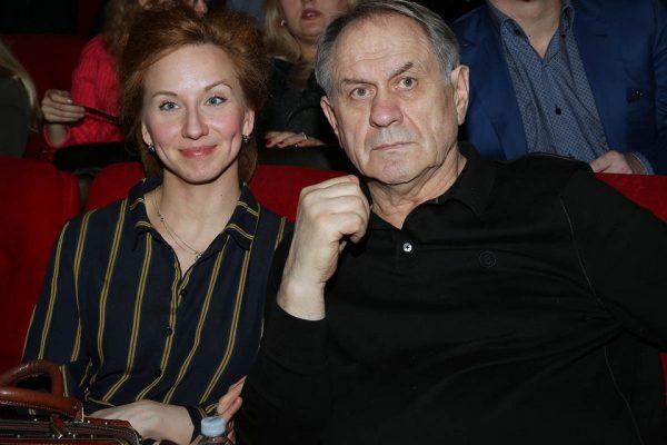 Валерий Афанасьев с четвёртой женой Натальей, фото:milbaby.ru