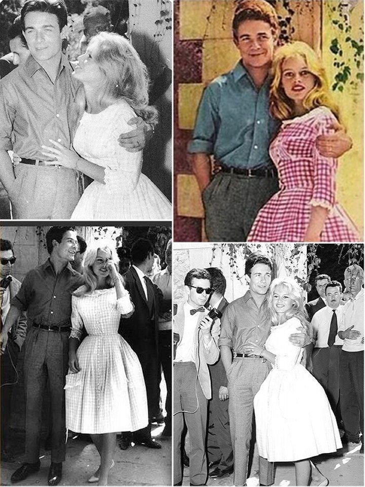 Свадьба Бриджит Бардо и Жака Шеррье. Фото miridei.com