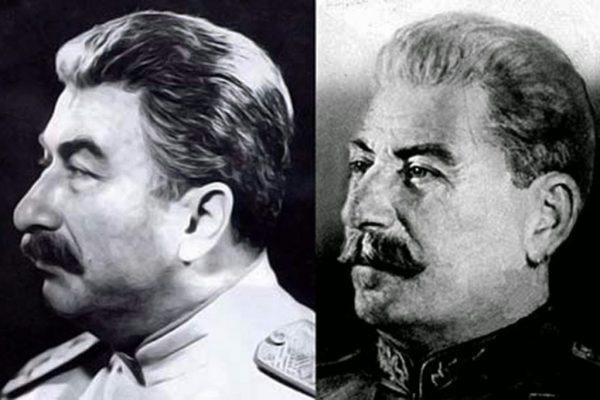 Иосиф Сталин и Евсей Лубицкий, фото:telegram-store.com