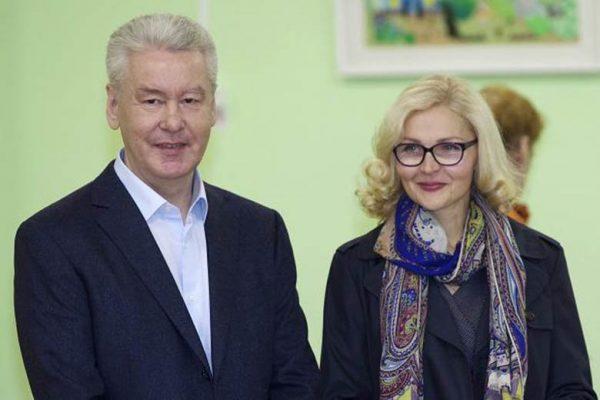 Сергей и Ирина Собянины, фото:autopeople.ru