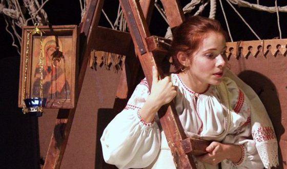 Екатерина Гусева в театре. Фото Вокруг ТВ
