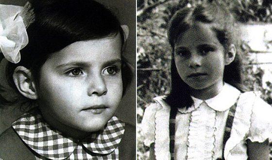 Екатерина Гусева в детстве. Фото uznayvse.ru