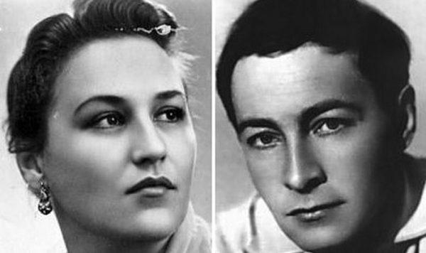 Нонна Мордюкова и Тихонов