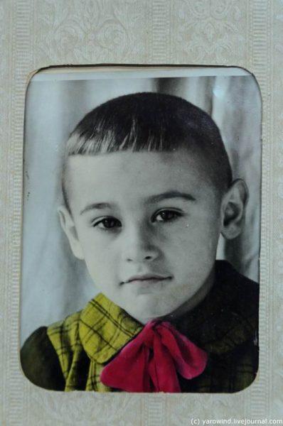 Вячеслав Тихонов в детстве