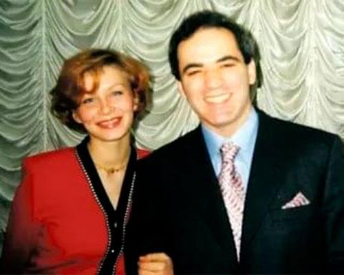 Каспаров и Юлия Вовк. Фото wellnesso