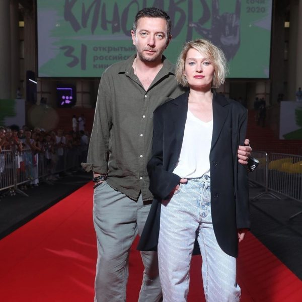 Алексей Агранович и Виктория Толстоганова