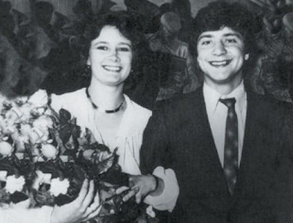 Актриса с мужем, Георгием Исаевым. Фото: tele.ru