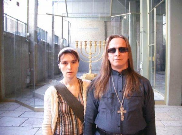 Матушка Ксения и Иван Охлобыстин. Фото stuki-druki.com