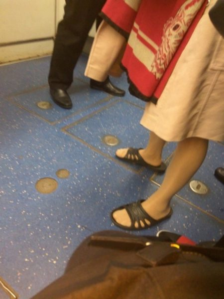 Необычные люди в метро, фото:ucrazy.ru