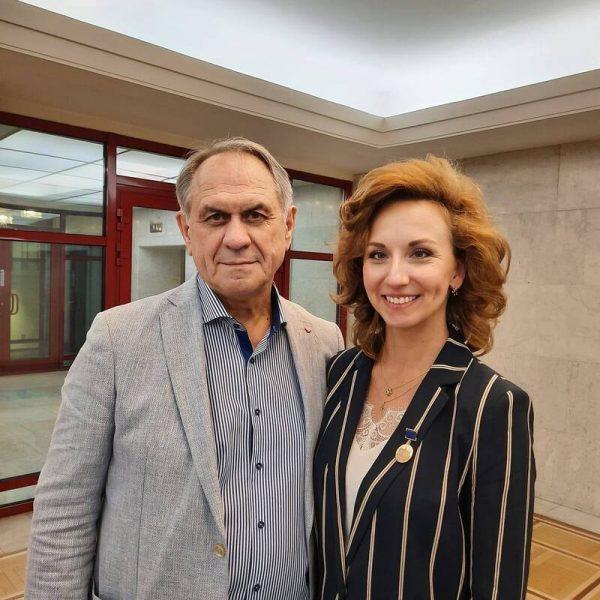 Валерий Афанасьев с четвертой женой Натальей, фото:news.myseldon.com