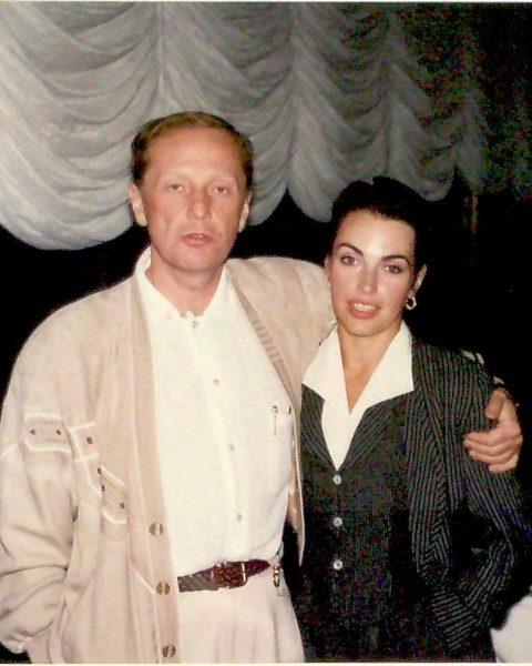 Михаил Задорнов с женой Еленой