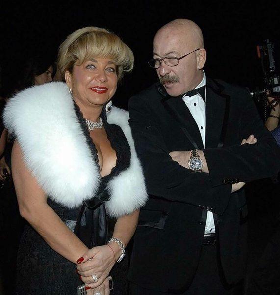 Александр Розенбаум с женой, фото:Яндекс.Дзен