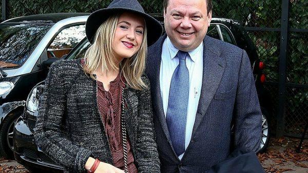 Михаил Фридман с дочерью Лорой