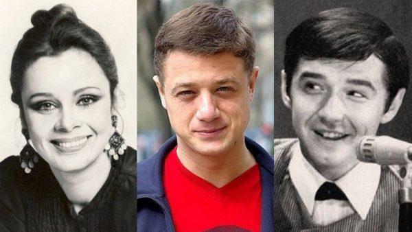 Любовь Полищук, Валерий Макаров, Алексей Макаров, фото:Яндекс.Дзен
