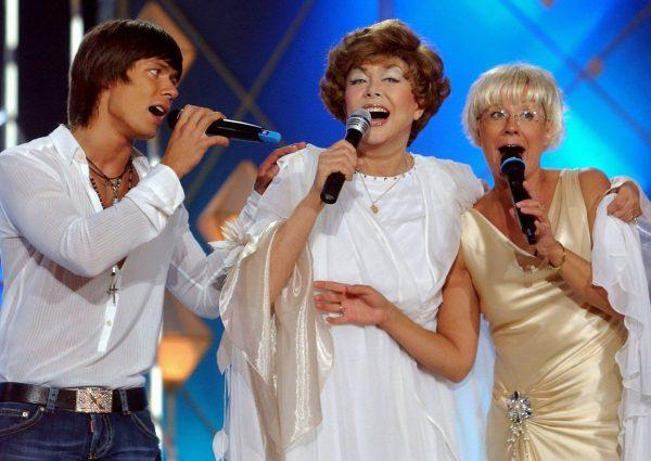 Стас Пьеха с мамой и бабушкой