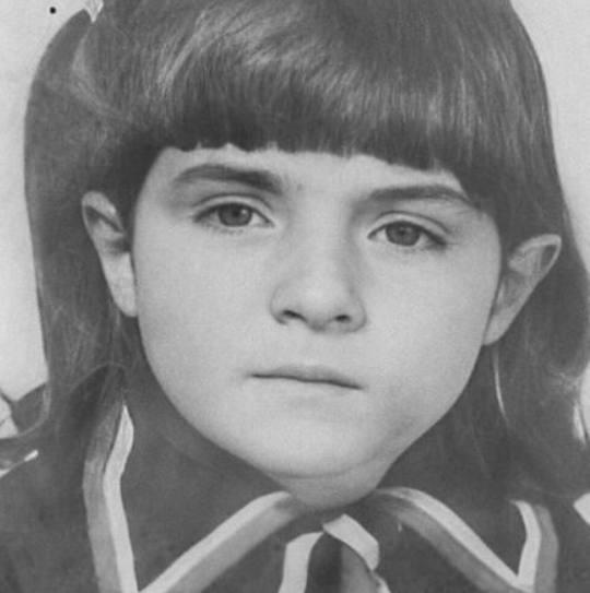 Виктория Руффо в детстве. Фото из открытого доступа