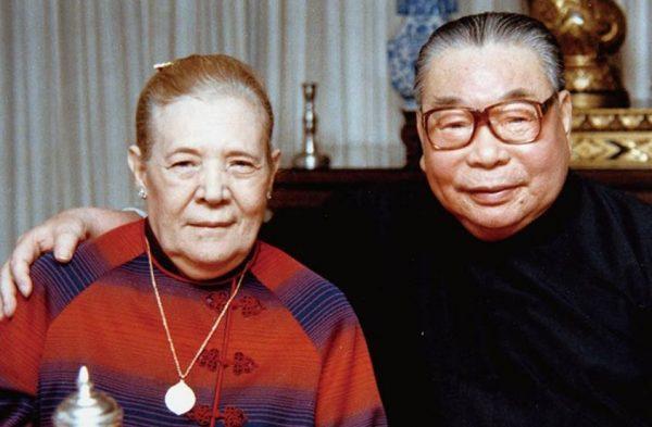 Цзян Цзинго и Фанлян в последние годы жизни. Фото kulturologia.ru