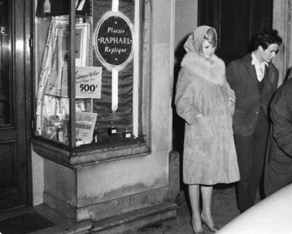 Бриджит Бардо во время беременности. 1959 год. Фото Вокруг ТВ