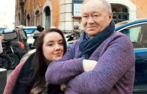 Юрий Кузнецов с дочкой Александрой. Фото uznayvse