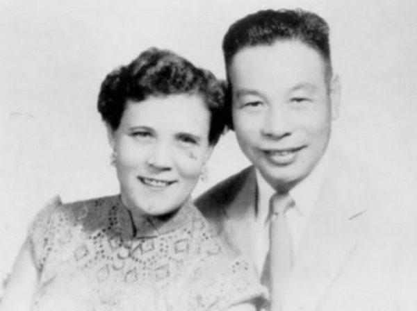 Цзян Цзинго и Фаина в молодости. Фото: pervo.info