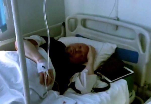 Шура в больнице. Фото НТВ