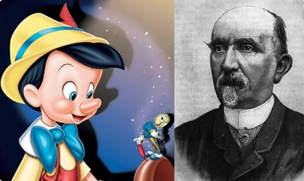 """Пиноккио и его"""" изобретатель"""" Карло Коллоди (Лоренцини)"""