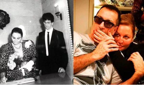Александр Буйнов и его жена раньше и сейчас. Фото uznayvse.ru