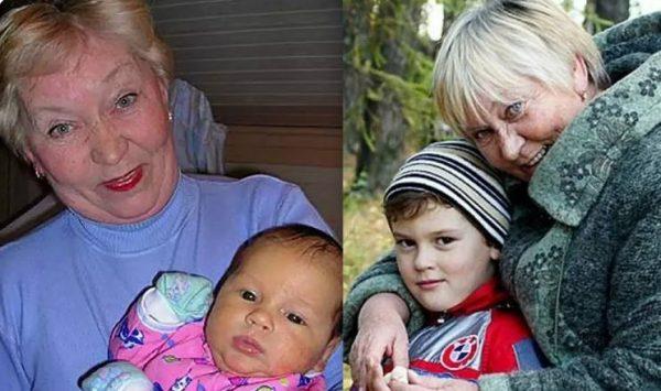 Екатерина Захарова с внуком. Фото kp.ru