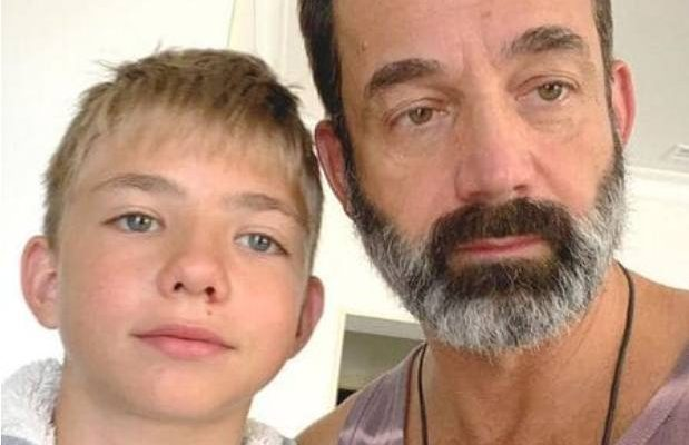 Дмитрий Певцов с сыном. Фото irma-stream.ru
