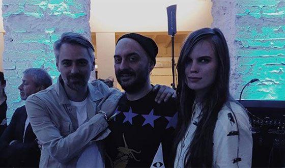 Александра Ревенко с Кириллом Серебренниковым. Фото uznayvse