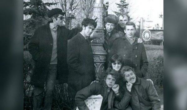 Александр Розенбаум и его первая группа «Аргонавты». Фото /uznayvse