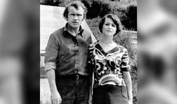 Юрий Кузнецов с первой женой. Фото uznayvse
