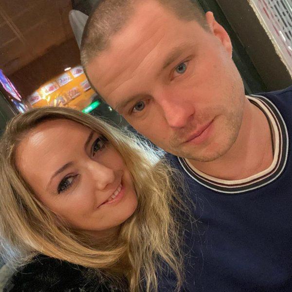 Роман Мальков с бывшей женой