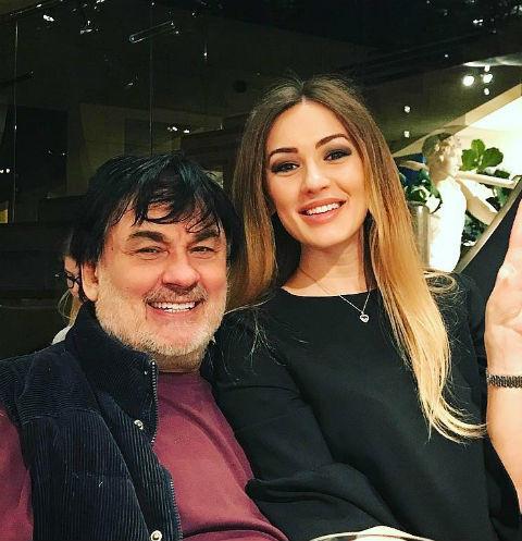 Александр Серов с дочкой