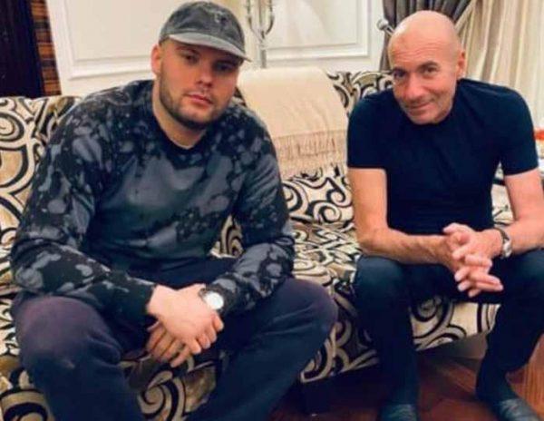 Игорь Крутой с сыном