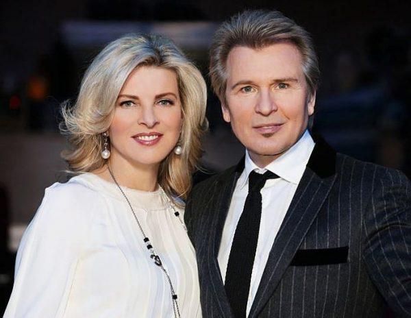 Александр Малинин с женой