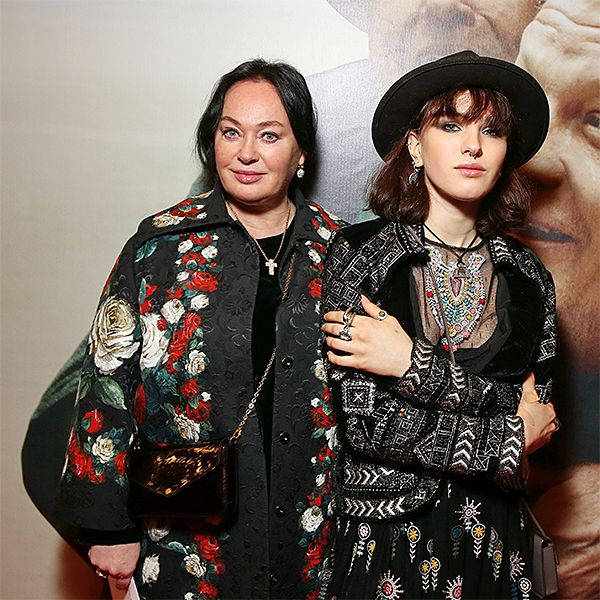 Лариса Гузеева с дочкой