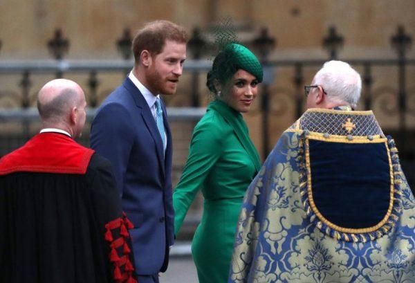 Меган Маркл, принц Гарри, фото: Global look Press