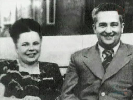 Юрий Андропов со второй женой Татьяной. Фото livejournal.com