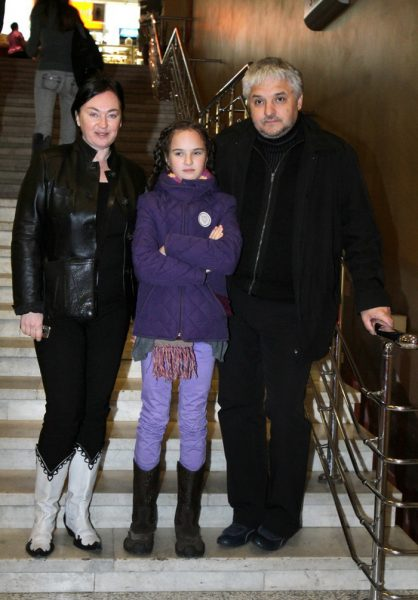 Лариса Гузеева, муж, дочка Ольга Бухарова