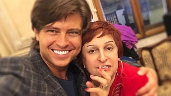 Прохор Шаляпин и Алла Пеняева. Фото Instagram @shalyapin_official