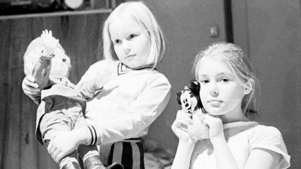 Сестры Шукшины в детстве. Фото stuki-druki
