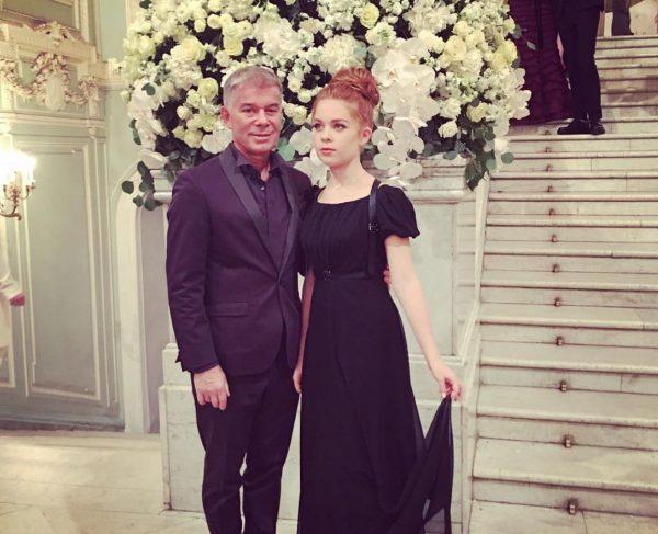 Олег Газманов с дочерью,фото:debop.ru