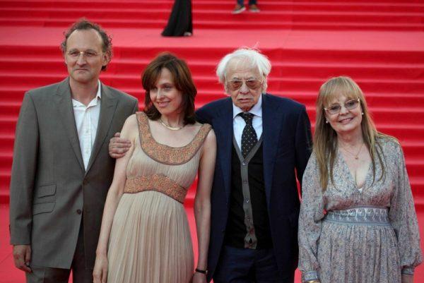 Александр Фарбер с семьей жены