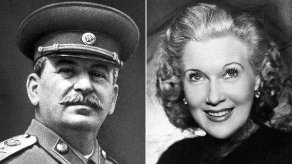 Орлова Любовь Петровна и Сталин