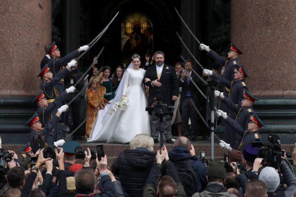 Венчание Георгия Романова в Исаакиевском соборе