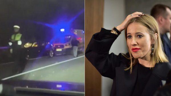 Вчера Ксения Собчак попала в ДТП - есть погибшие и пострадавшие
