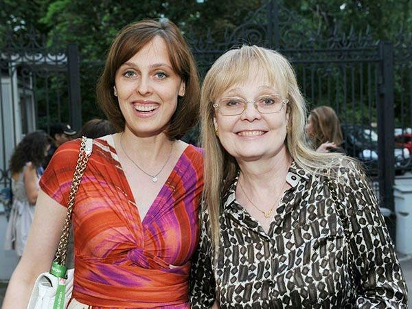 Наталья Белохвостикова с дочерью Наташей