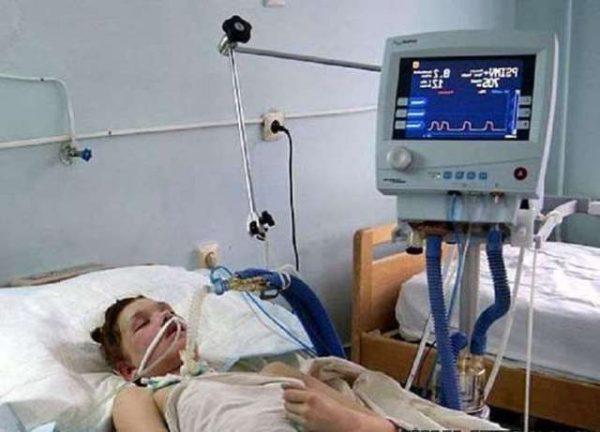 Маша Кончаловская в больнице. Фото elleonora.ru