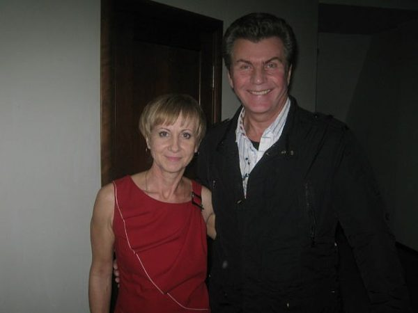 Ярослав Евдокимов с женой, фото:goodmuzika.ru